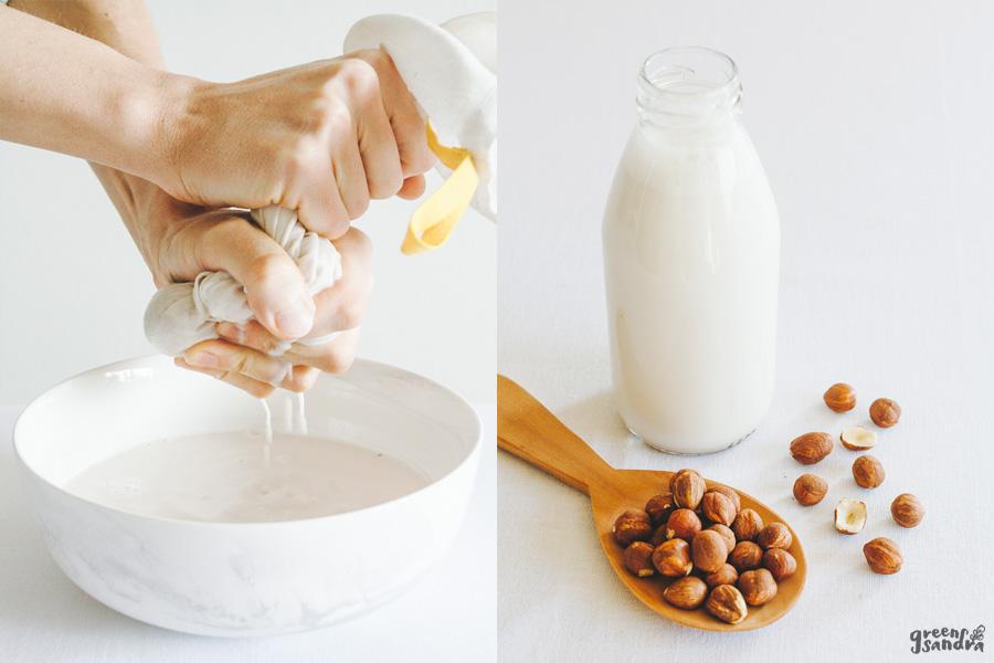 Cómo hacer leches vegetales en casa